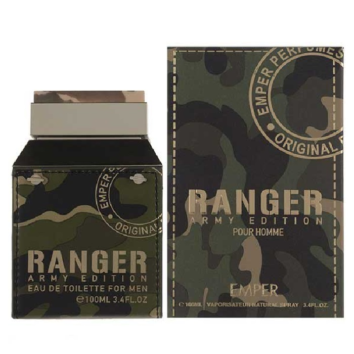 Ranger Army Edition Cologne by Emper 3.4oz Eau De Toilette spray for men